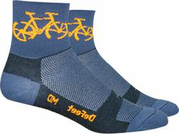 "DeFeet Aireator 3"" Townee Sock: Graphite XL"