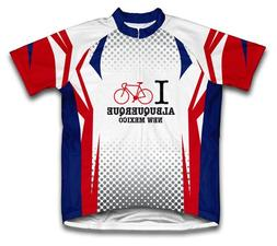 Albuquerque New Mexico NM Cycling Jersey for Men - Size XL