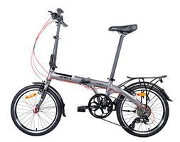 "Camp 20"" Alloy 8 Speed Folding Bike City"