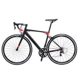 SAVADECK Aluminium Alloy Road Bike, R8 700C Carbon Fork Road