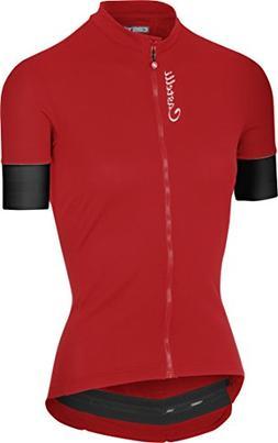 Castelli Anima 2 Full-Zip Jersey - Women's Red, S
