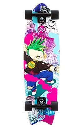 Punisher Skateboards Anime Complete Cruiser Skateboard