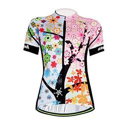 ce951b4f6 Aogda Cycling Jersey Women Bike Shirts Biking Bib Pants Ladi
