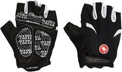 Castelli Arenberg Gel Glove - Men's Black/White, M