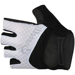 Castelli Arenberg Gel Glove - Women's White/Black, M