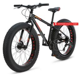 "Mongoose Boys Argus Fat Tire Bicycle 24"" Wheel, Black"