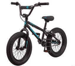 Mongoose Argus Toddler/Kids Fat Tire Mountain Bike, 16-20-In