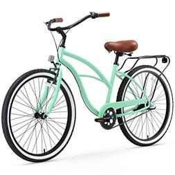 sixthreezero Around The Block Women's 3-Speed Cruiser Bicycl