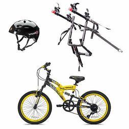 Kent Bikes Avigo Air Flex Steel 20 Inch Boys BMX Bike & 2 Bi