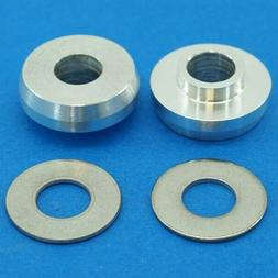 """Bully Axle Adapter Kit 3/8"""" in to 14mm Pair w Washers for BM"""