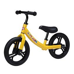 Mini Mix Balance Bike for Kids and Toddlers with Padded Seat