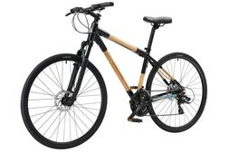 BambooEcoCross hybrid 21 speed bicycle - by Greenstar Bike