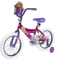 Dynacraft 16 Barbie Girls Fun Bike Ride Pink training wheels