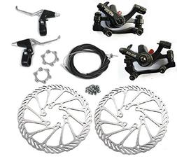 BlueSunshine BB8 Front and Back Disk Brake Kit - 160mm For 8