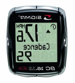 Sigma Sport BC16.12 STS CAD Double Wireless 16 Function Bicy