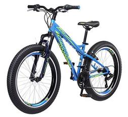 "Mongoose Boys Bering 3"" Fat Tire Bicycle 24"" Wheel"