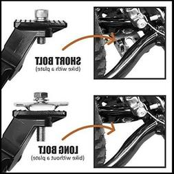 Bicycle Bike Kickstand Concealed Spring-Loaded Latch For 24-