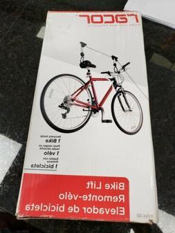 Racor Bicycle Bike Lift Garage Ceiling Mount Storage Organiz