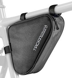 Bicycle Bike Storage Bag Triangle Saddle Frame Strap On Pouc