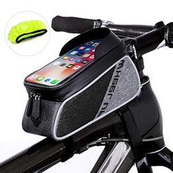 WATERFLY Bicycle Frame Bag Bike Front Tube Handlebar Bag Cyc