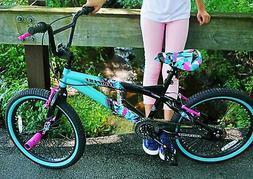 Bicycle Girls Bike 20 Inch Street Dirt BMX Single Speed Kids