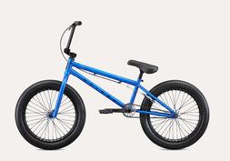 Mongoose Bicycle Legion L100 BMX Freestyle Bike Blue Chrome