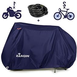 Widras Bicycle and Motorcycle Cover for Outdoor Storage Bike