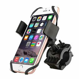 Bicycle MTB Bike Handlebar Silicone Mount Holder for Cell Ph