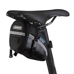 ROSEWHEEL CestMall 1.2L Bicycle & MTB Cycling PU Saddle Bag,