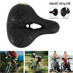 Bicycle Seat Comfort Wide Cruiser Bike Saddle Seat Soft Cush