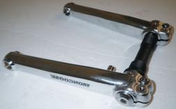 MONGOOSE BICYCLE SILVER/CHROME CRANK ARM