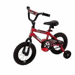 """Child Bicycle 12"""" Steel Bike With Grips for Begginer Kids Re"""