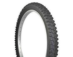 """BICYCLE TIRE 24"""" X 2.60 DURO ALL BLACK  BMX MTB CYCLING BIKE"""