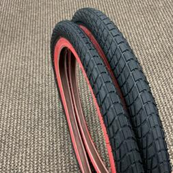 BICYCLE TIRES RED WALL 20 X 1.95 FIT RAT ROD SEARS ROADMASTE