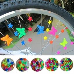 Bicycle Wheel Plastic Bead Decoration Cycling Accessories Fo
