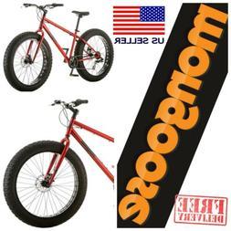 "MONGOOSE BIG FAT TIRE Mountain Bike Beach Snow Sand 26"" Whee"