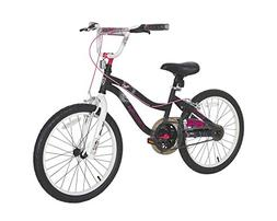 "Monster High Girls Bike, 20"", Black/White/Pink"