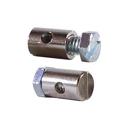 ADJUSTABLE CABLE LOCK BARREL CLAMP DIAMETER 6mm LENGHT 9mm G