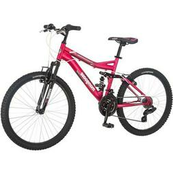 "Bike- Bicycle- 24"" Mongoose Ledge 2.1 Girls' Mountain Bike,"