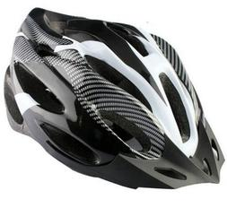New Adult Mens Bike Bicycle Cycling Safety Carbon Fiber Grai
