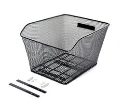 CyclingDeal Bike Bicycle Rear Wire Mesh Basket for Hybrid Fl