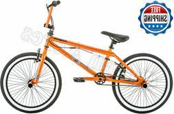 Bike Bmx Style Kids 20 Inch Bicycle Wheels Sturdy Frame 4 Fr