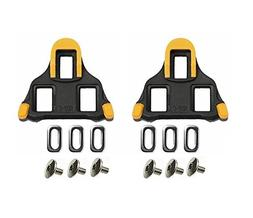 Outfun Bike Cleats 6 degree Float Self-Locking Compatible wi