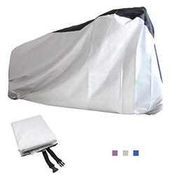 Top-spring Waterproof Bike Bicycle Cover, Outdoor Storage Co