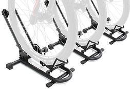 Bikehand Bike Floor Parking Rack Storage Stand Bicycle Pack