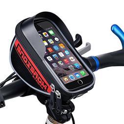 MOREZONE Bike Handlebar Bag Bicycle Pouch,Cycling Frame Bag