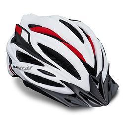 VICTGOAL Bike Helmet with Detachable Visor Back Light & Inse
