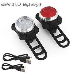 Bike Light,Rucan Cycling Bicycle Bike 3 LED Head Front With