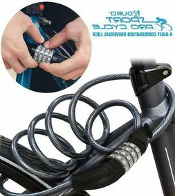 Aduro Sport Bike Lock Cable, 4-Feet Bicycle Master Cable Loc