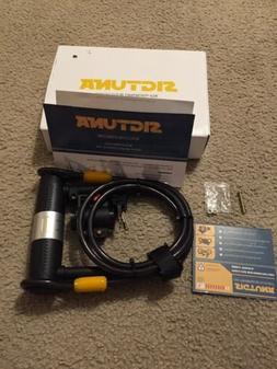 Sigtuna Bike Lock + Cable Combo 16mm U-Lock  1200mm Steel Fl